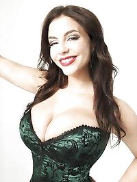 Hot Desiree posing and teasing