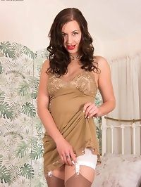 Tindra is a fan of the nylon slip, slinky and tactile over..