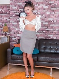Spend some time with French milf Chloe as she entertains,..