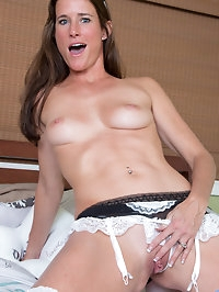 Naughty maid Sofie Marie wants you to make her nice and..
