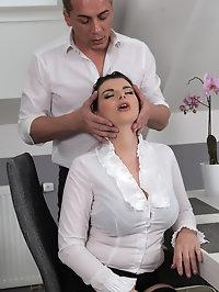 Busty Sandra Nero Gets Fucked