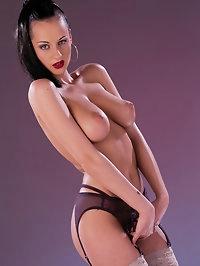 Amazing brunette gets her ass fucked in motel room in Paris