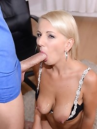MILF Luci Angel Fucks and Takes a Facial Fit for a Cougar