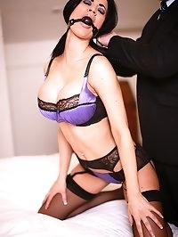 Big Breasted Superstar Jasmine Jae Pleasured by Stiff Cock
