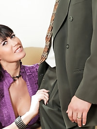 Anilos Eva Karera gets what she wished for a warm cum..