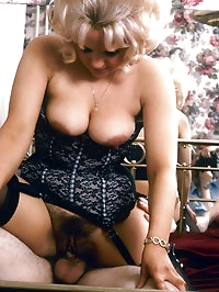 Seventies milf knows how to please a boner