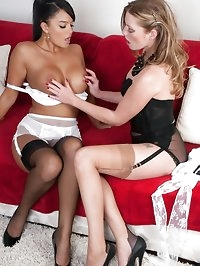 Holly and Sasha - Lady H and the maid