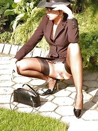 A horny high class lady