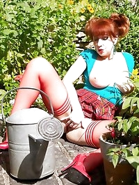 Cum into my garden