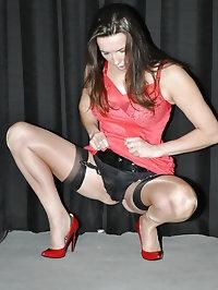 Nylon Jane makes vintage lingerie look so sexy