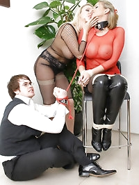 This naughty babe needed to be tied up and punished for..