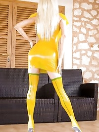 Yellow Latex Lust
