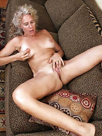 Horny and elegant 54 year old Sabrina P slide out of her..