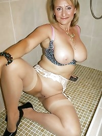 Darling plays around in the shower