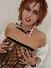 Cute little Kayla has a dick rammed in her mouth and pussy