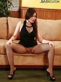 POV Fishnet Pantyhose Sex with Luccia