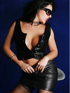 Leather Nylon Pics