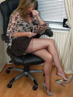 Office Nylon Pics